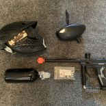 Spyder Fenix - Black Paintball Marker + Equipment