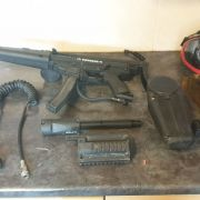 Full Paintball Setup Tippman X7 MP5