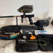 HK Army Shocker RSX Black and Gold Complete Bundle Includes Everything In Photos
