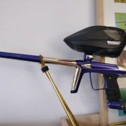 DLX LUXE ICE PAINTBALL MARKER GUN - GOLD AND PURPLE