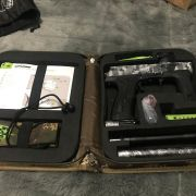 etha 2 paintball marker used 8 times as new