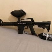 BT omega m16 paintball gun