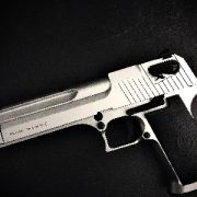 KWC CO2 DESERT EAGLE, SILVER - METAL