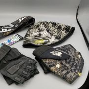Hangar18 Paintball Gloves, Hat