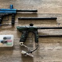ION paintball gun modded