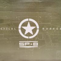 Tactical marker sp8 paintball gun