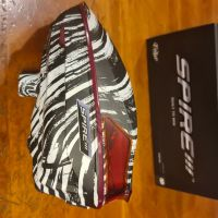 Virtue Spire Paintball Hopper - Graphic Black White Zebra