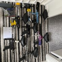Paintball markers x6 old school