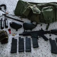 MILSIG M17 FULL PAINTBALL KIT AND MANY MANY ACCESSORIES
