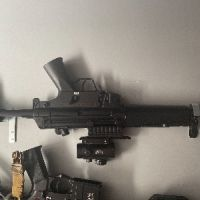 Jing gong mp5 with rail attachment