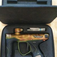 DYE's M3s Paintball Marker/Gun - the pinnacle of performance and luxury