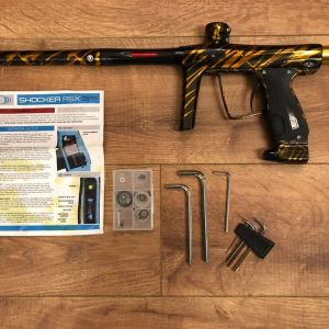 1 of 1 made, Shocker Tiger Stripes - Unique Professional Paintball Marker
